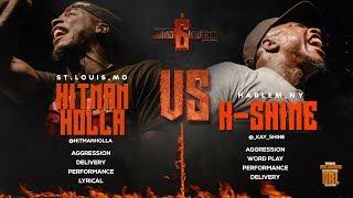 HITMAN HOLLA VS K-SHINE SMACK/ URL RAP BATTLE | URLTV width=