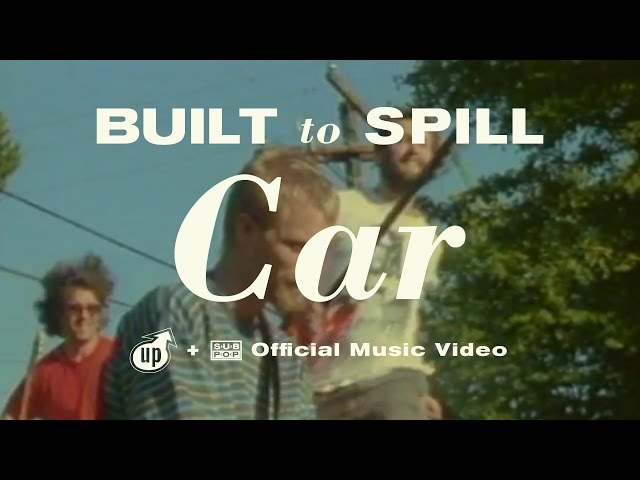 "Vídeo oficial de ""Car"" de Built to Spill"