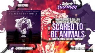 Martin Garrix & Dua Lipa vs LOOPERS vs. Firebeatz - Scared To Be Animals (Martin Garrix UMF Mashup)
