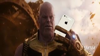 Thanos punch meme