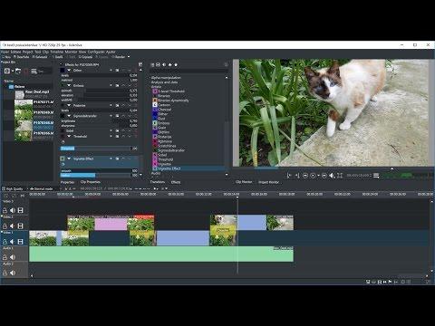 Kdenlive, editor video gratuit pentru Windows și Linux