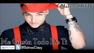 Maluma - Me Gusta Todo De Ti (Con Letra) (Original) [Audio Nueva Canción] MAGIA 2012
