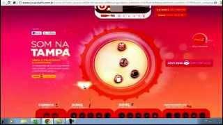 Brincando Com Som De Tampinhas No Site Da Coca Cola :)