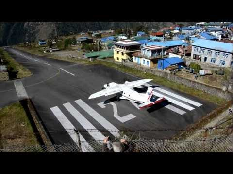 Busy Morning at Tenzing-Hillary Airport, Lukla, Nepal
