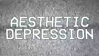 AESTHETIC DEPRESSION - TERMINAL RELATIONS.