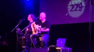 Mike Massé and Jeff Hall. 229 The Venue 1st April 2016. U2 cover. One tree hill