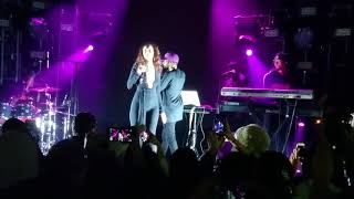 "6lack & Sabrina Claudio - ""Belong to You [Remix]"" Live in NYC, 11.19.2017, Free 6lack Tour"