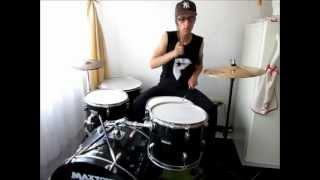 Steven Landon I just wanna party - Yelawolf ft Travis Barker (Drum cover).wmv