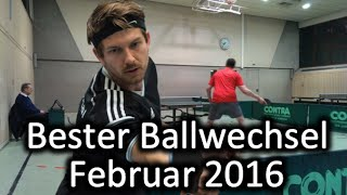 DJK Käfertal - Bester Ballwechsel Februar 2016