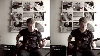 Room to breathe you me at six guitar cover