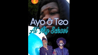 "•|School Vlog #1|•""Ayo & Teo Came To My School