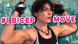best upper bicep workout