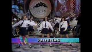 """Paquitas New Generation cantando """"Nova Geração"""" - Xuxa Hits 7/10/1995"""