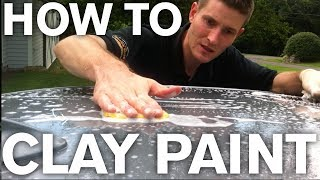 How to use Paint Clay