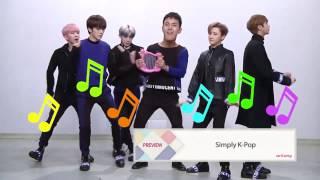 LEGENDADO [PT-BR] Simply K-Pop Preview com MONSTA X