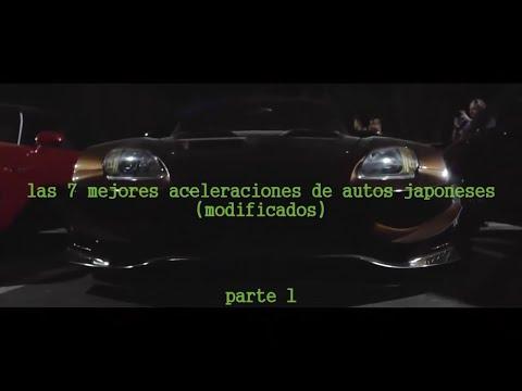 las 7 mejores aceleraciones de autos japoneses (modificados)