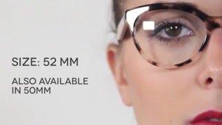 afb582fd4f64 Prada PR11RV TRIANGLE ROJ1O1 Eyeglasses in Pink