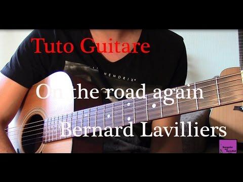 Comment jouer On the road again de Bernard Lavilliers à la guitare