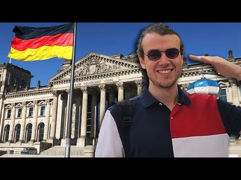 Russian Visits Berlin (2019, Colorized)