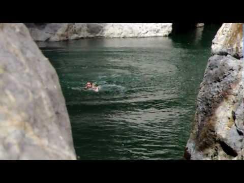 Cliff Jumping at Somoto Canyon, Nicaragua