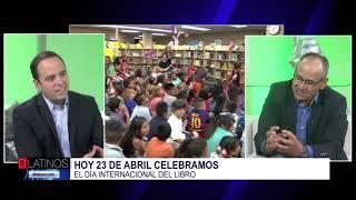 En el día internacional del libro conversamos con el escritor Oscar Arenas
