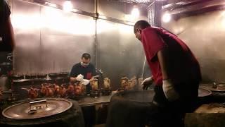 Roast chicken in wood fire oven. Yilan Taiwan. Wengyao Roast Chicken 甕窯雞