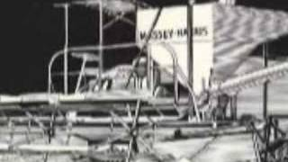 Massey Harris #20 Combine ASABE Landmark No 15