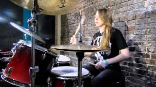 You Me At Six – Room To Breathe (drum cover by Natasha)