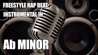 Freestyle Rap Beat Instrumental In Ab Minor