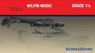 Lavender's Blue arr. Loreta Fin - Score & Sound