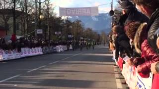 Volata vincente di Rino Gasparrini (Team Beltrami)