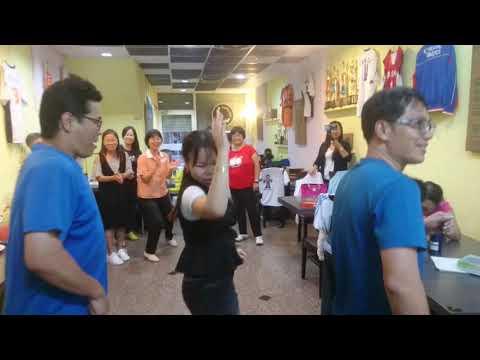 太昌國小1080518家長志工聯誼-志工胡氏碧園教排舞 - YouTube