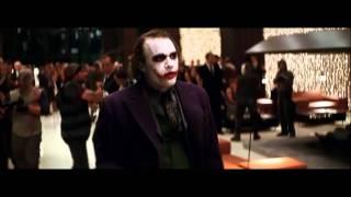"Famous Movie Scene: The Dark Knight ""Joker Crashes The Party"" HD"