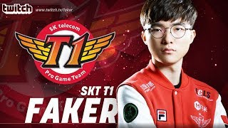 Faker Live Stream 24/7 - SKT T1 Faker Ranked Gameplay