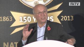 """Positive, creative, together"" Greg Dyke at National Game Conference"