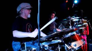 Feelin' Alright-Joe Cocker Tribute Band drum and percussion section