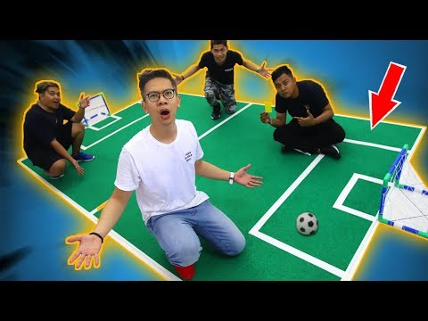Download Video BIKIN LAPANGAN SEPAK BOLA DI KANTOR!!!