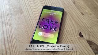 FAKE LOVE Ringtone - BTS (방탄소년단) Tribute Marimba Remix Ringtone (BTS FAKE LOVE)