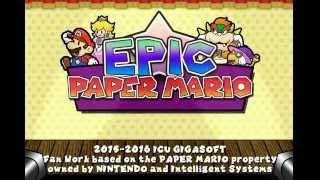 Epic Paper Mario - Title & Main Menu (Beta)