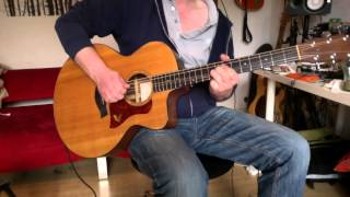 "How to play ""Alive"" by Pearl Jam on acoustic guitar with Eddie's vocal track"