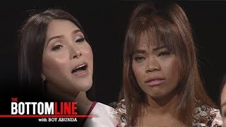 The Bottomline: Elsa and Rianne relate to words by using their personal stories