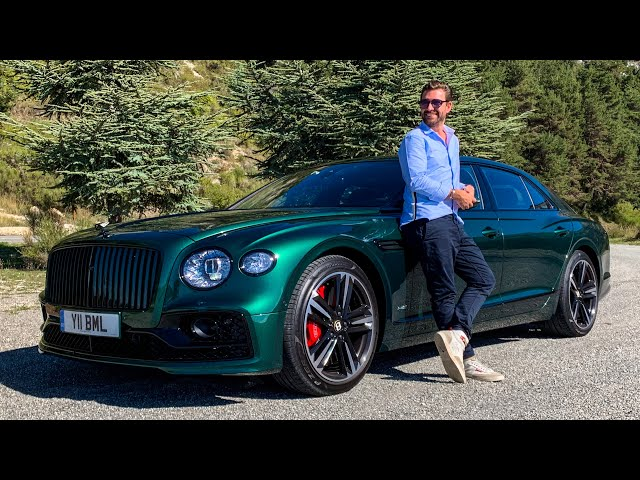 NEW Bentley Flying Spur - FIRST DRIVE Review!