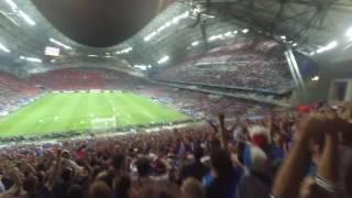 15-6-2016 [Live] Fans reaction after Griezmann's Goal!