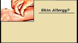 How to cure skin allergies in 1 minute using home remedies - insects bites, unknown skin allergy
