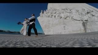 """Interpretação de dança Fado Morna do tema """"Beijo de saudade"""" de Mariza e Tito Paris"""