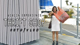 VIRGIN THRIFT SHOP EXPERIENCE! ◇ OOTD + Vlog