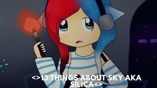 |13 things about silica or sky| OUR FIRST VIDEO!