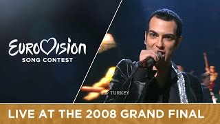 Mor ve Ötesi - Deli (Turkey) Live 2008 Eurovision Song Contest