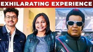 Mersal Producer Hema Rukmani Opens Up About 2.0 3D Movie Experience | Rajinikanth