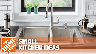 A video showing various small kitchen ideas